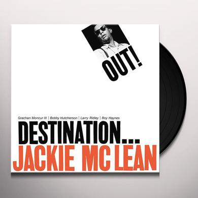 Jackie Mclean DESTINATION OUT Vinyl Record