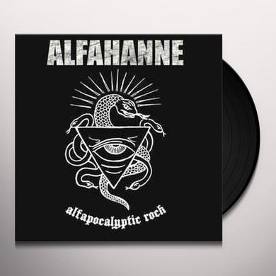 Alfahanne ALFAPOCALYPTIC ROCK Vinyl Record