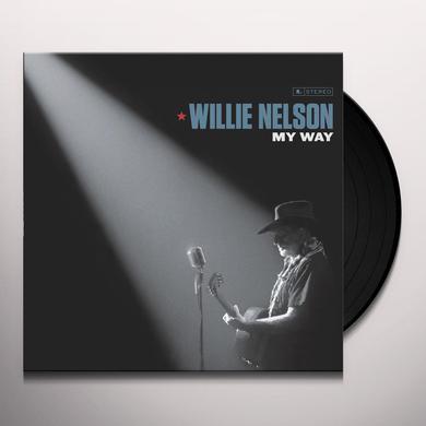 Willie Nelson MY WAY Vinyl Record