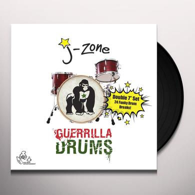 J-Zone GUERRILLA DRUMS Vinyl Record