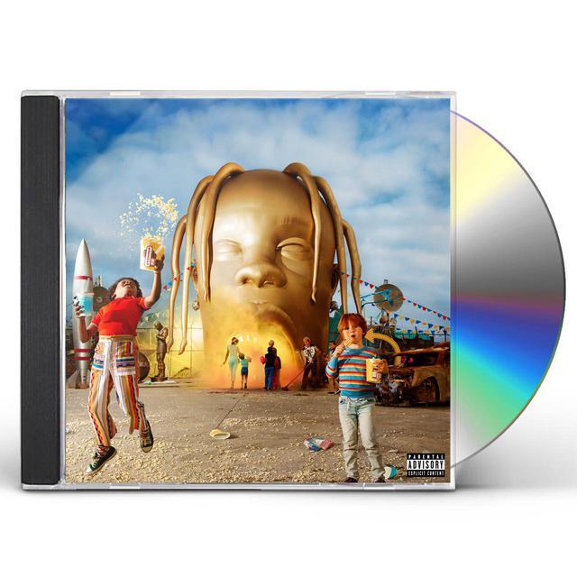 Travis Scott ASTROWORLD CD