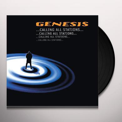 Genesis CALLING ALL STATIONS (1997) Vinyl Record