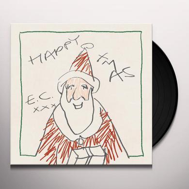 Eric Clapton HAPPY XMAS Vinyl Record