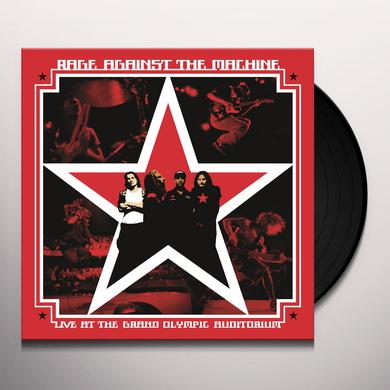 Rage Against The Machine LIVE AT THE GRAND OLYMPIC AUDITORIUM Vinyl Record