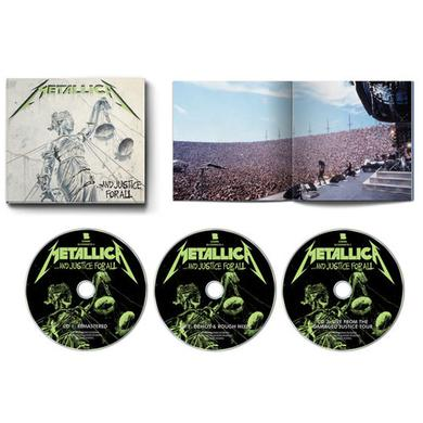 Metallica JUSTICE FOR ALL CD
