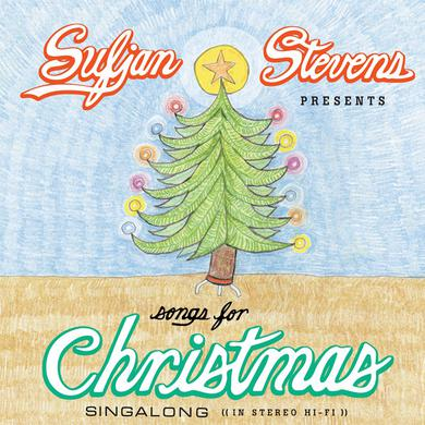 Sufjan Stevens SONGS FOR CHRISTMAS Vinyl Record