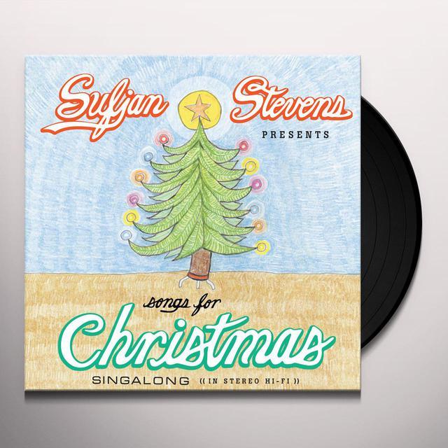 Sufjan Stevens SONGS FOR CHRISTMAS Vinyl Record