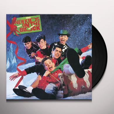 New Kids On The Block MERRY MERRY CHRISTMAS Vinyl Record