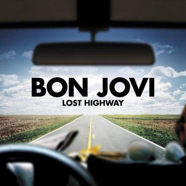 Bon Jovi LOST HIGHWAY Vinyl Record - UK Import