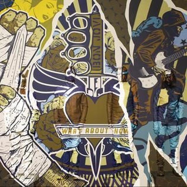 Bon Jovi WHAT ABOUT NOW Vinyl Record - UK Import