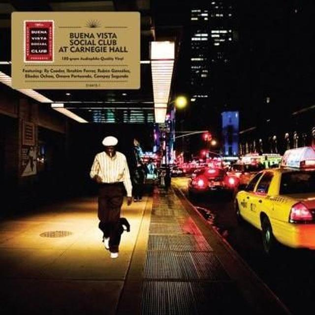 BUENA VISTA SOCIAL CLUB AT CARNEGIE HALL Vinyl Record