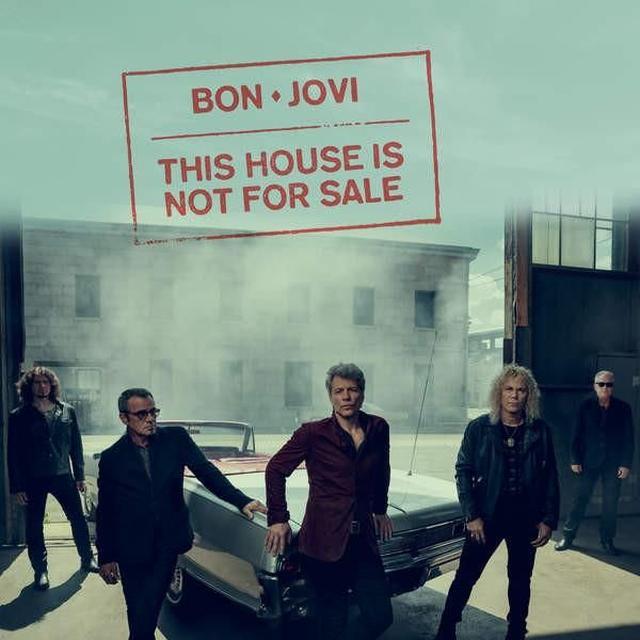 Bon Jovi THIS HOUSE IS NOT FOR SALE Vinyl Record - Gatefold Sleeve