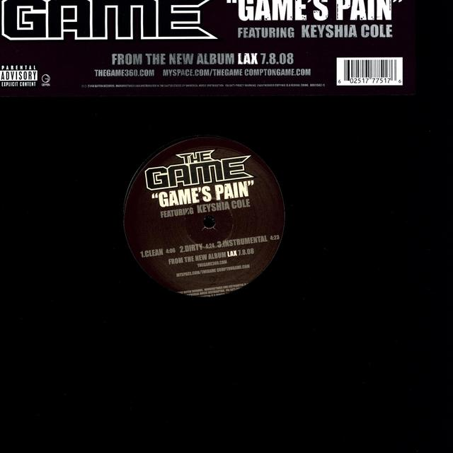 GAME'S PAIN (X3) Vinyl Record