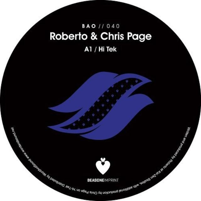 Roberto Page & Chris SPRING TIMES Vinyl Record