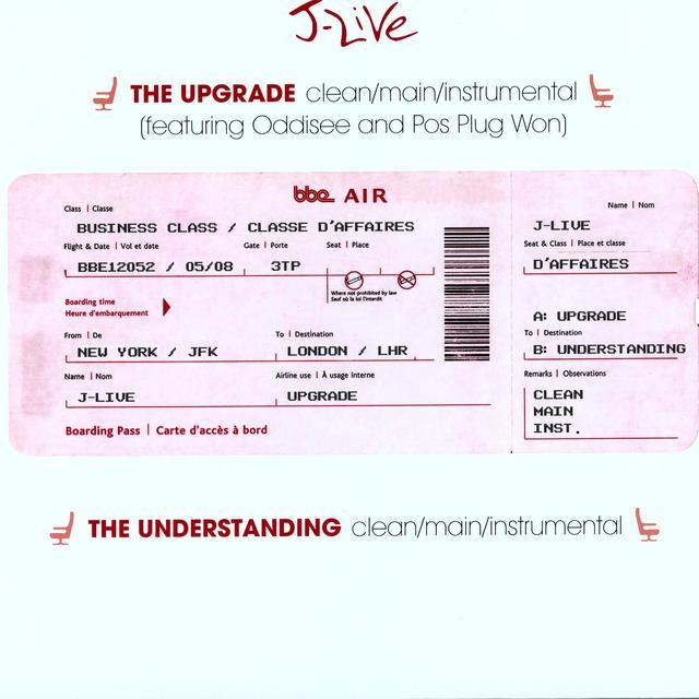 J-Live UPGRADE / UNDERSTANDING (Vinyl)
