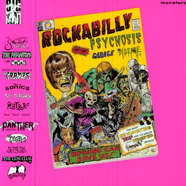 ROCKABILLY PSYCHOSIS & THE GARAGE DISEASE / VAR Vinyl Record