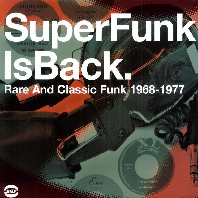 Super Funk Is Back Vol 5: Rare & Classic Fun / Var