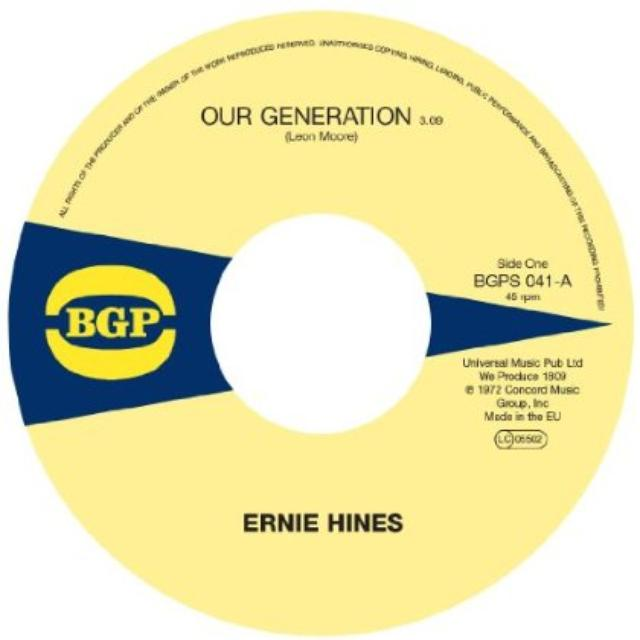 Ernie / The Blackbyrds Hines