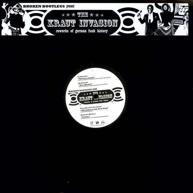 KRAUT INVASION: REWORKS GERMAN FUNK HISTORY / VAR Vinyl Record