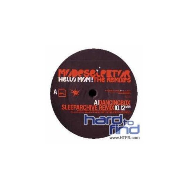 Modeselektor HELLO MOM REMIXES Vinyl Record