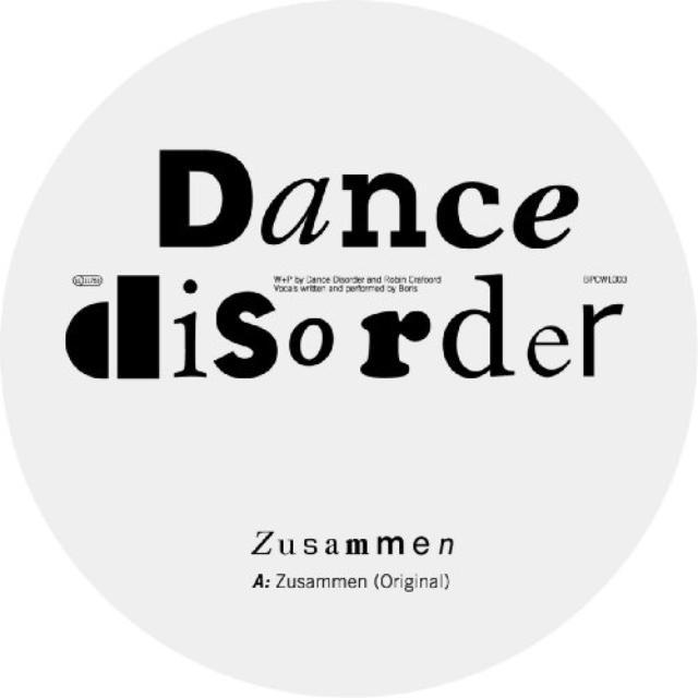 Dance Disorder ZUSAMMEN Vinyl Record