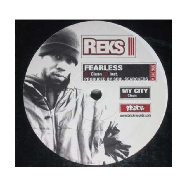 Reks FEARLESS / SKILLS 201 / MY CITY Vinyl Record