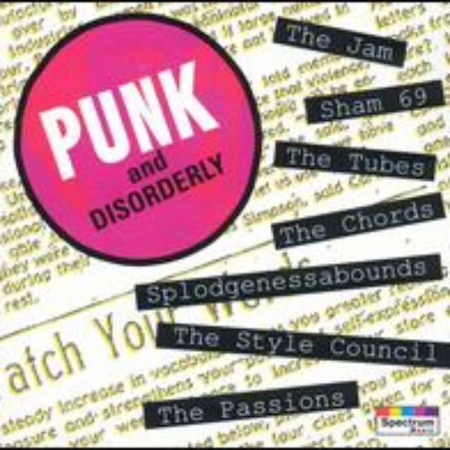 PUNK & DISORDERLY 1 / VARIOUS Vinyl Record