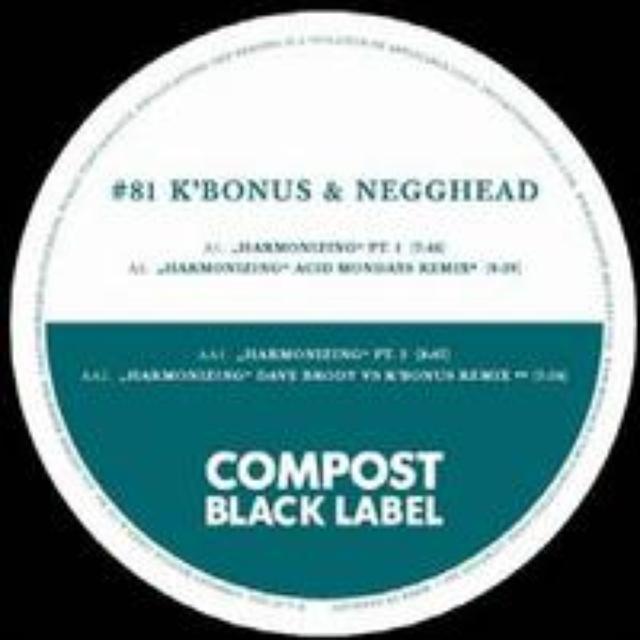 K'Bonus / Negghead HARMONIZING Vinyl Record