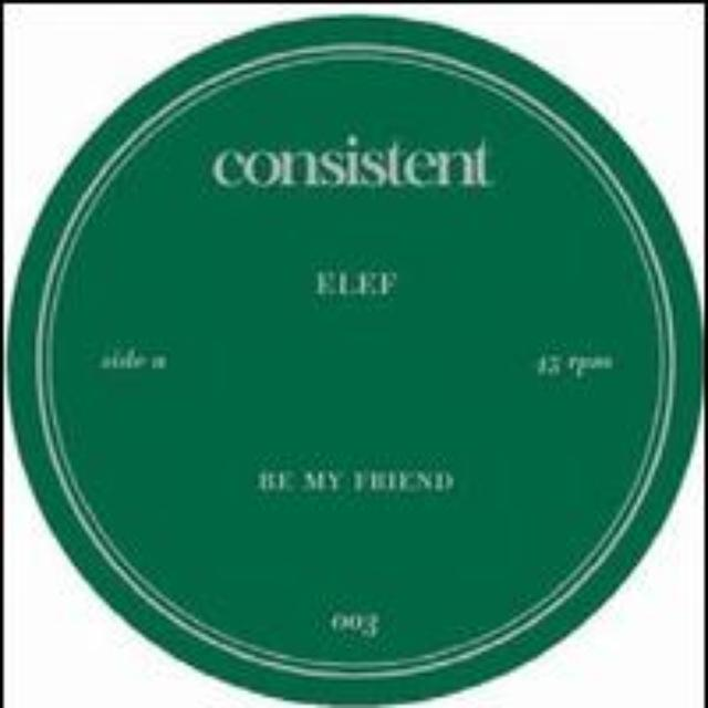 Elef BE MY FRIEND Vinyl Record
