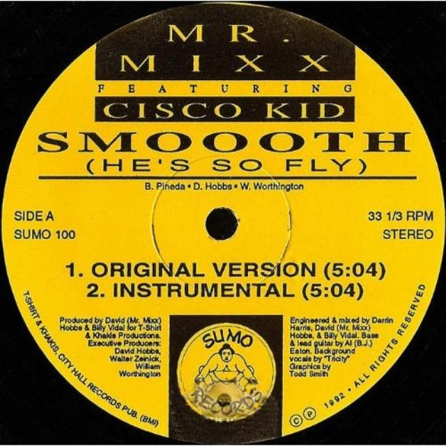 Mr. Mixx Feat. Cisco Kid SMOOOTH (HES SO FLY) Vinyl Record