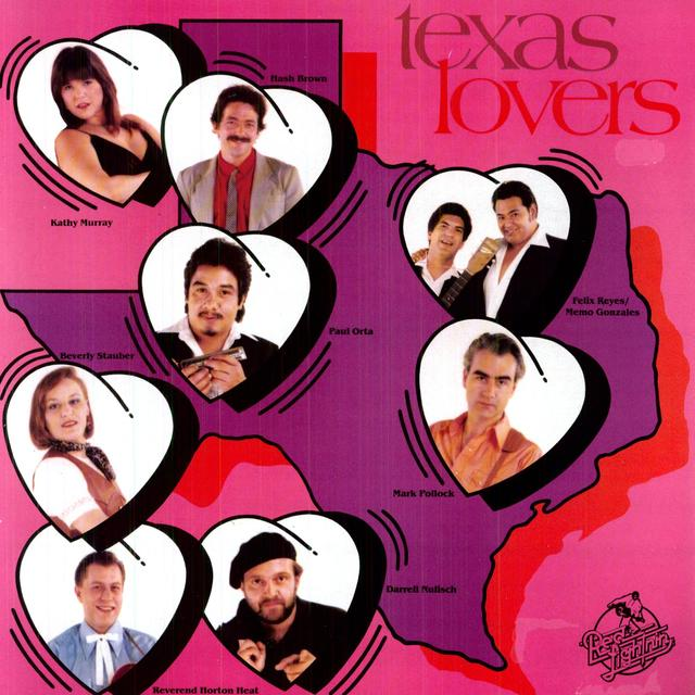 TEXAS LOVERS / VARIOUS Vinyl Record