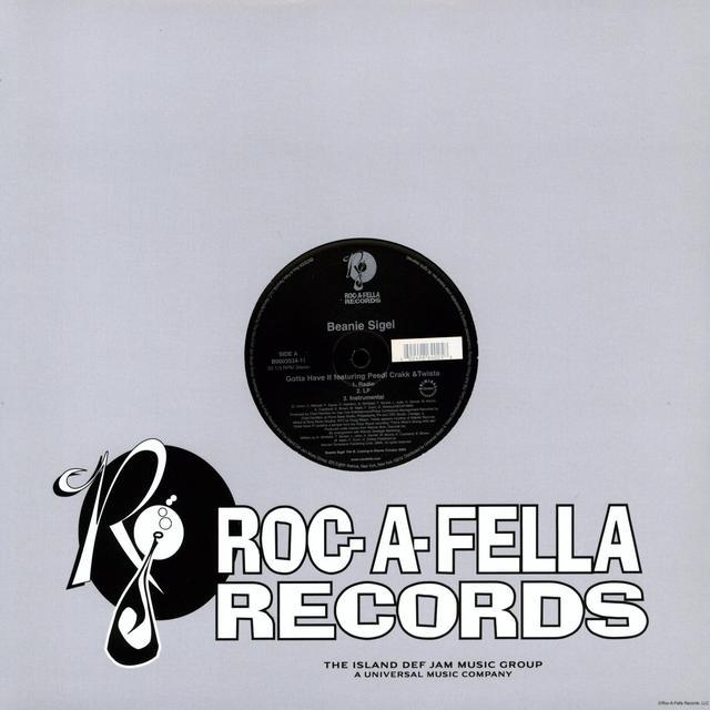 Beanie Sigel GOTTA HAVE IT (X3) Vinyl Record