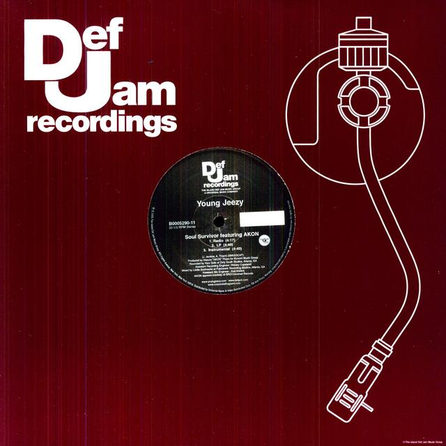 Jeezy SOUL SURVIVOR (X6) Vinyl Record