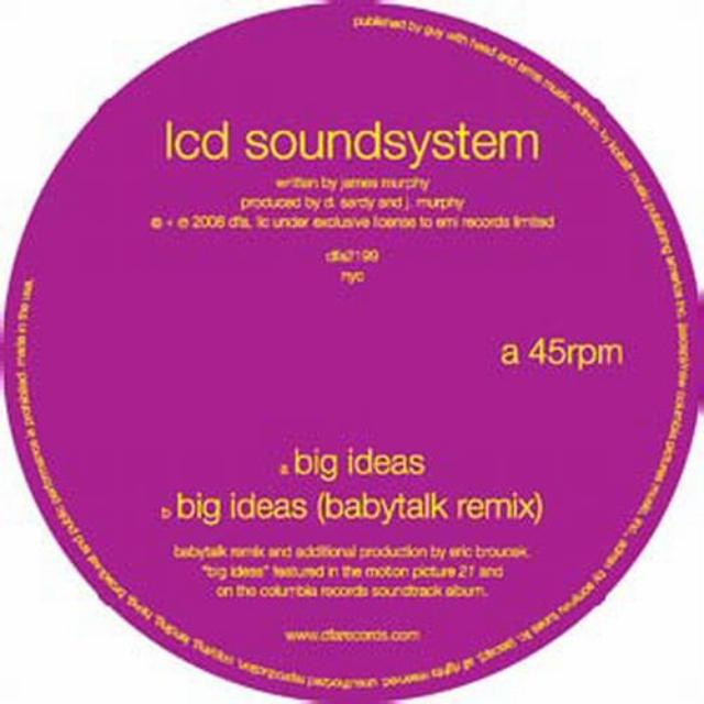 Lcd Soundsystem BIG IDEAS (Vinyl)