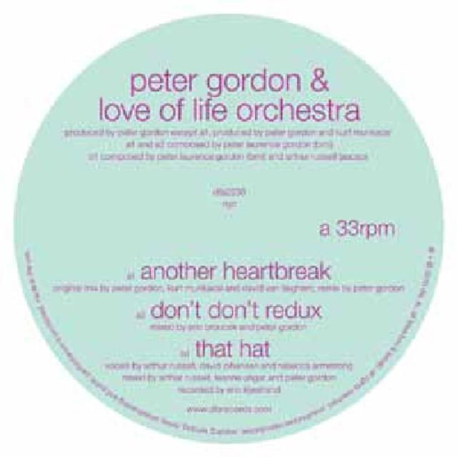 Peter / Love Of Life Orchestra Gordon ANOTHER HEARTBREAK (Vinyl)