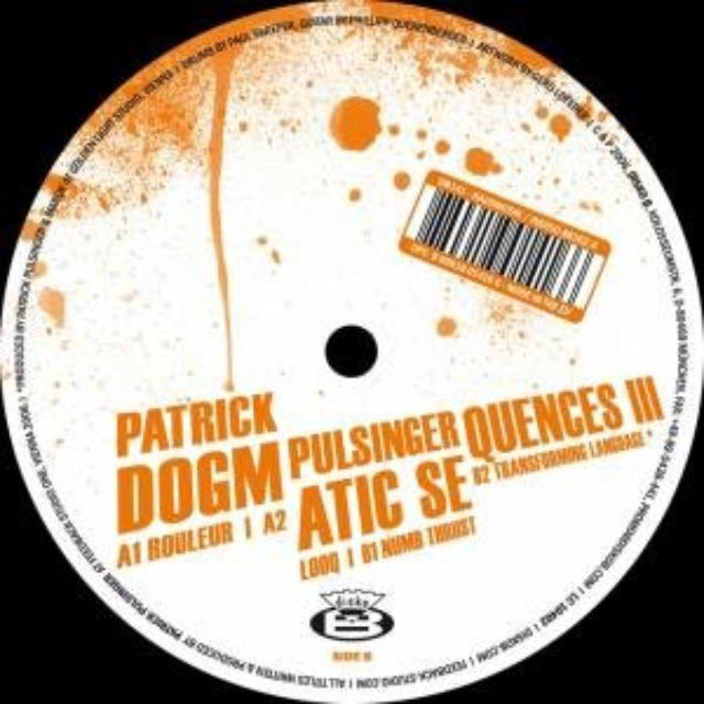 Patrick Pulsinger DOGMATIC-SEQUENCES 3 Vinyl Record