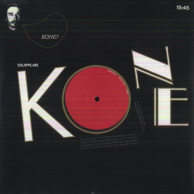 Disappears KONE Vinyl Record