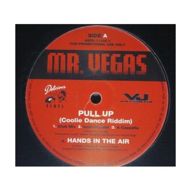 Mr. Vegas TAMALE / PULL UP Vinyl Record