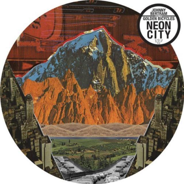 Johnny / Golden Bicycles Bertram NEON CITY Vinyl Record