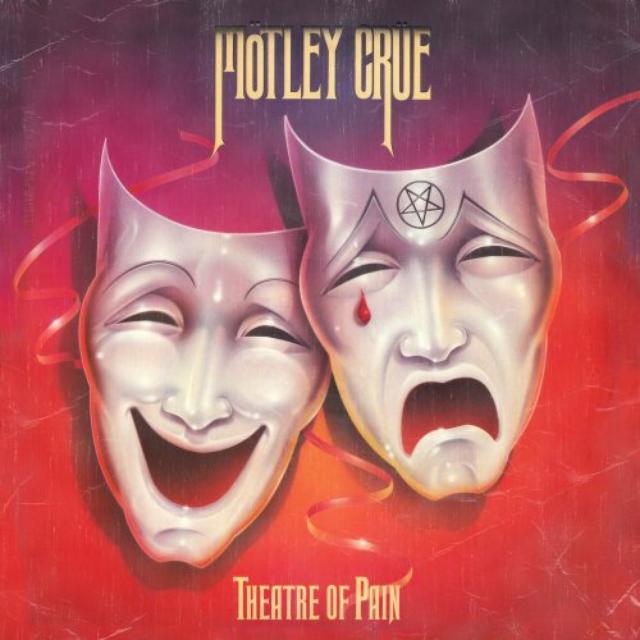 Motley Crue Theater Of Pain Vinyl Record 180 Gram