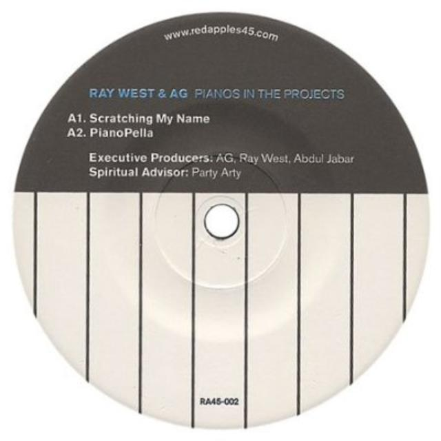 A.G. Of Ditc & Ray West PIANOS IN THE PROJECTS Vinyl Record