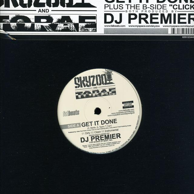Skyzoo / Dj Premier GET IT Vinyl Record
