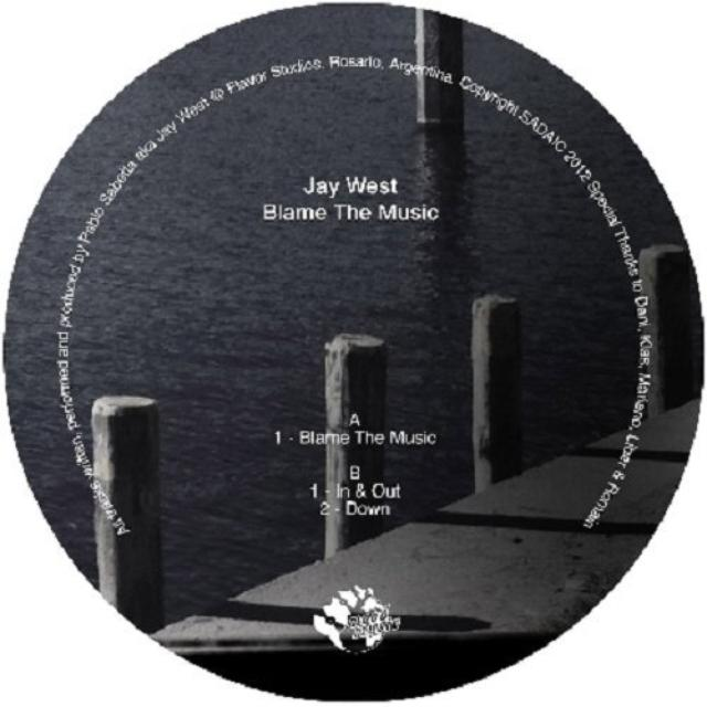 Jay West BLAME THE MUSIC Vinyl Record
