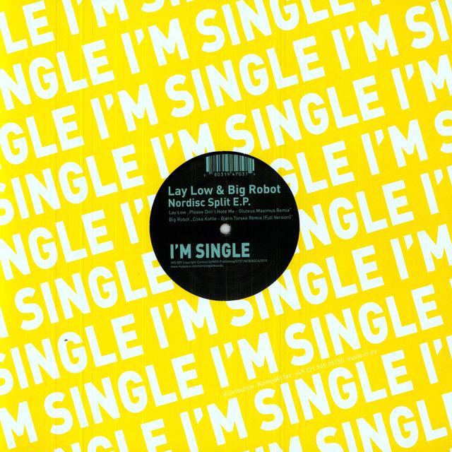 Lay Low/Big Robot NORDISC SPLIT (EP) Vinyl Record