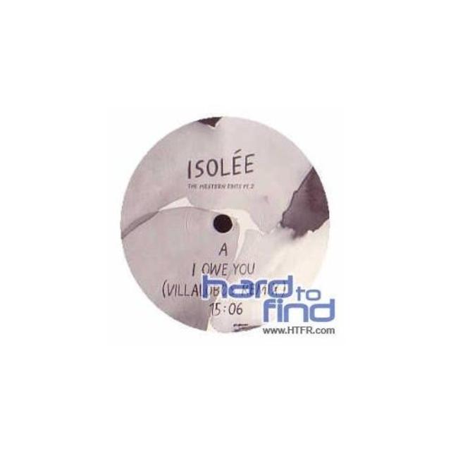 Isolée WESTERN EDITS PT. 2 Vinyl Record