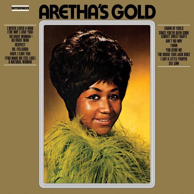 Aretha Franklin ARETHA'S GOLD Vinyl Record