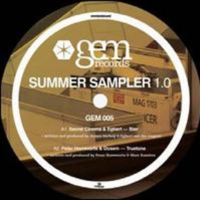 GEM SUMMER SAMPLER 1 / VARIOUS Vinyl Record