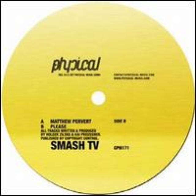 Smash Tv MATTHEW PERVERT Vinyl Record