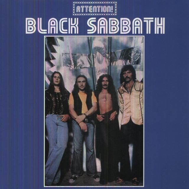 ATTENTION BLACK SABBATH 2 Vinyl Record