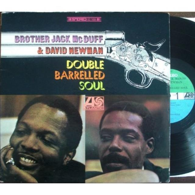 Brother Jack McDuff Quartet DOUBLE BARRELLED SOUL Vinyl Record